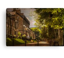 Buxton Cottages Canvas Print