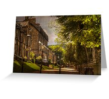 Buxton Cottages Greeting Card