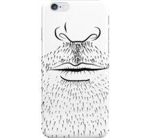 Men's Beard  Face iPod / iPhone 4 Case iPhone Case/Skin