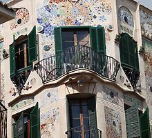 Palma  de  Mallorca:  El  edificio  Forteza  Rey  . Doctor Faustus . 2015. by © Andrzej Goszcz,M.D. Ph.D