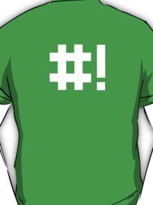 #! shebang T-Shirt