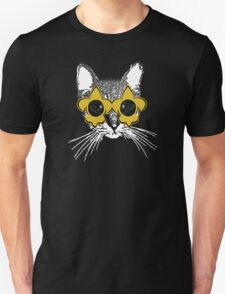 Black and Gold Pardi Animal (Without the crown and words) Unisex T-Shirt