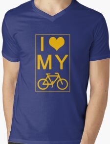 I love my Bike Mens V-Neck T-Shirt
