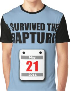 I Survived The Rapture (May 2011) Graphic T-Shirt