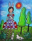Bunny-girl by Juli Cady Ryan