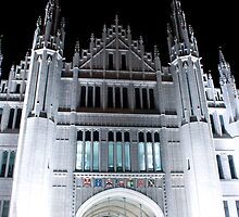 Marischal College At Night. by Darrenadie