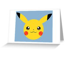 Kawaii Pikachu Greeting Card