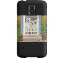 Great Pyrenees Dogs Porch Cathy Peek Animals Samsung Galaxy Case/Skin