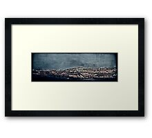 The Dark Side's Light Framed Print