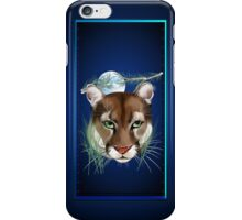Midnight Mountain Lion iPhone Case/Skin