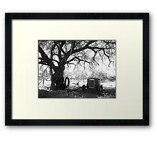 Outback Backyard Framed Print
