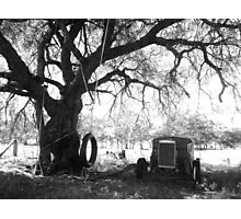 Outback Backyard Photographic Print