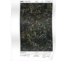 USGS Topo Map Washington State WA Strawberry Mountain 20110505 TM Poster