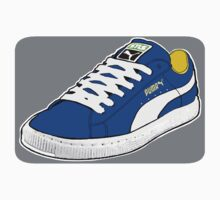PUMA SE: NAVY BLUE W/ WHITE LACES by SOL  SKETCHES™