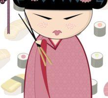 Sushi kokeshi Sticker