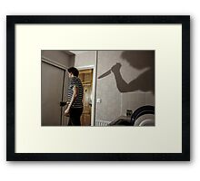 Stab My Back Framed Print