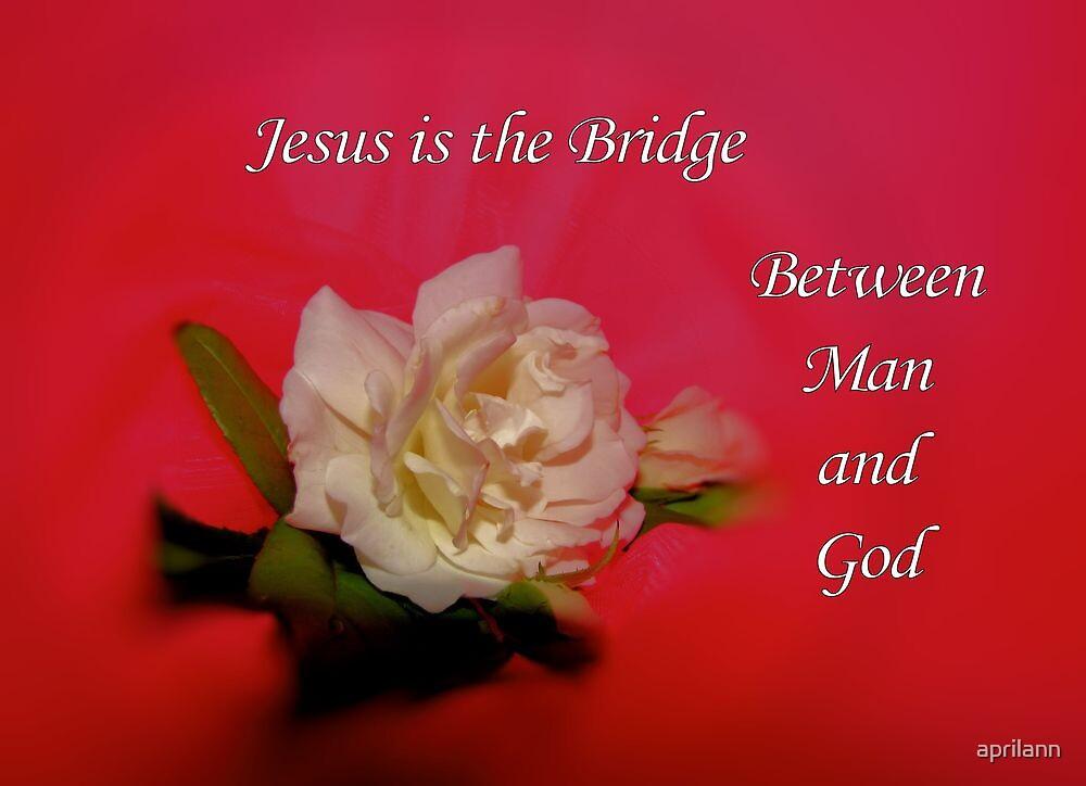 Jesus is the Bridge [iPhone - iPod Case] by aprilann