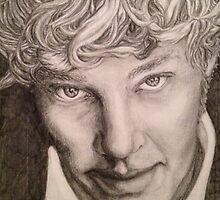 Benedict Cumberbatch sketch by cumberlover