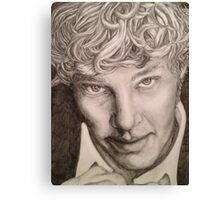 Benedict Cumberbatch sketch Canvas Print