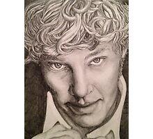 Benedict Cumberbatch sketch Photographic Print