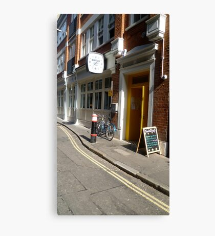 A London road view Canvas Print