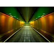 Underground Heathrow Photographic Print