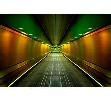 Underground Heathrow Photographic Print