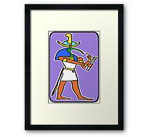 THOTH: SCRIBE OF THE GODS Framed Print