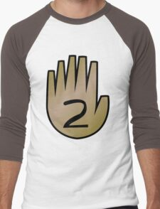 2 Hand Book From Gravity Falls Men's Baseball ¾ T-Shirt