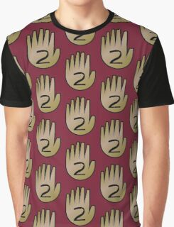 2 Hand Book From Gravity Falls Graphic T-Shirt