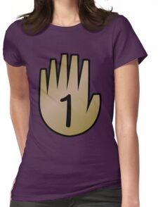 1 Hand Book From Gravity Falls Womens Fitted T-Shirt