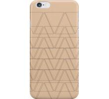 Earth Tone Geometry iPhone Case/Skin