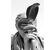 Snake Charmer Marrakesh Morocco Photographic Print