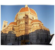 Sunrise on the Duomo Poster