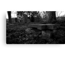 Broken Tomb Canvas Print