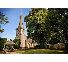 Church in Lower Slaughter Photographic Print
