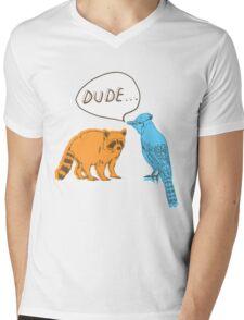 Regular Shirt Mens V-Neck T-Shirt