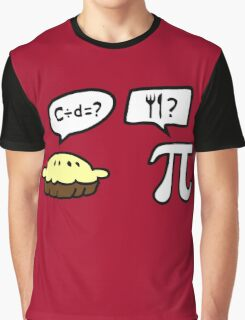 Pie and Pi Graphic T-Shirt