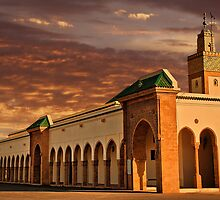 Morocco. Rabat. Mosque near the Royal Palace. by vadim19