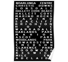 Noarlunga Train Scroll Poster