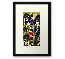 Pain in Rainbows Framed Print