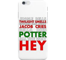 Harry Potter Jingle Bells iPhone Case/Skin