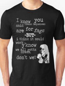 Hans, Seven Psychopaths, White Version Unisex T-Shirt