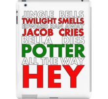 Harry Potter Jingle Bells iPad Case/Skin