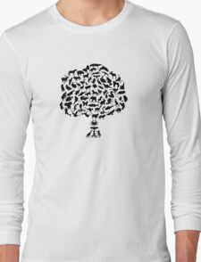 Animal Tree Long Sleeve T-Shirt