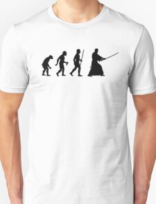 Funny Evolution of Man and Kendo T-Shirt