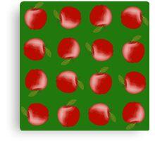 Apple repeat Canvas Print