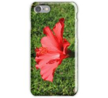 Hibiscus on a Bush iPhone Case/Skin