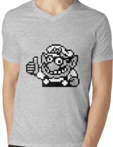Wario Approval Mens V-Neck T-Shirt