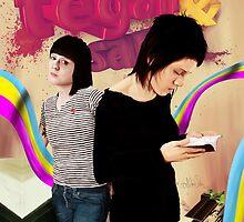 Tegan and Sara by evilfrogo